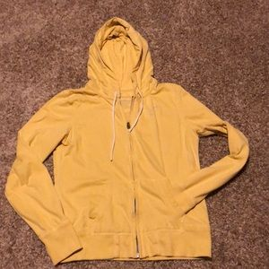 American Eagle M yellow hoodie